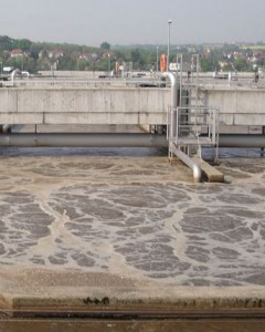 Air flow control in Effluent Treatment